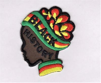 Girl Cub Boy BLACK HISTORY Month Fun Patches Crests Badges SCOUT GUIDE scarf fun