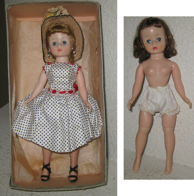 2 Vintage Madame Alexander Cissette Dolls - 1 needs TLC - Read full description