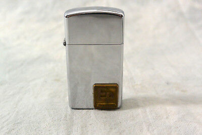 Vintage 1976 Slim Zippo Lighter Machinists Eagle Picher Bearings Co.