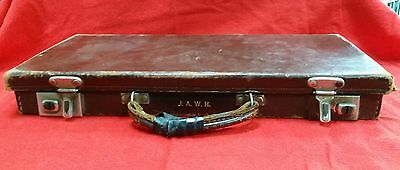 Masonic Case With Initials On Front And Blue & White Apron