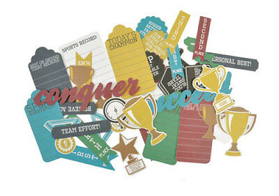 *A&B* KAISERCRAFT Scrapbooking Collectables Game On - Awards - CT792
