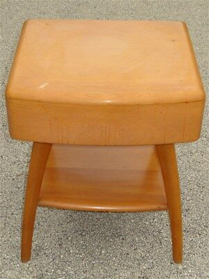 1950s Heywood Wakefield Lamp Table/ End Table With Drawer M793G