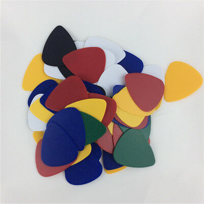 Lot 100X Acoustic Electric Bass Ukulele Guitar Picks 0.46mm Thickness