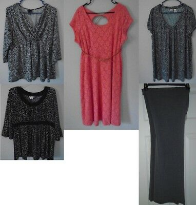 Lot Of 5 Size XL, 1x Maternity Dress and work clothes (business casual)