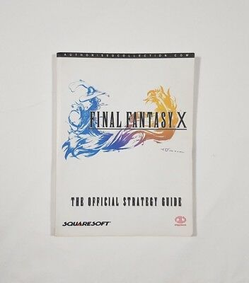 Final Fantasy X Official Strategy Guide by Piggyback (Paperback, 2002)