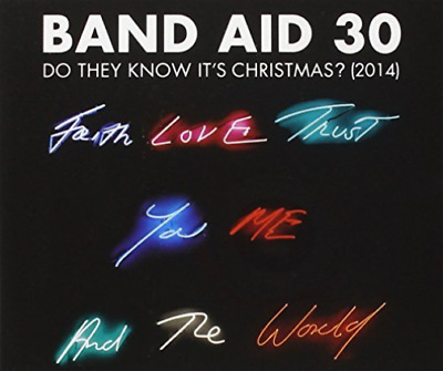 Band Aid 30-Do They Know It's Christmas? (2014)  (US IMPORT)  CD / Single NEW