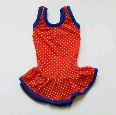 "Vintage ""LADYBIRD"" 1970s Baby Toddler Girl 70s Swimsuit  French Vintage Size 2"