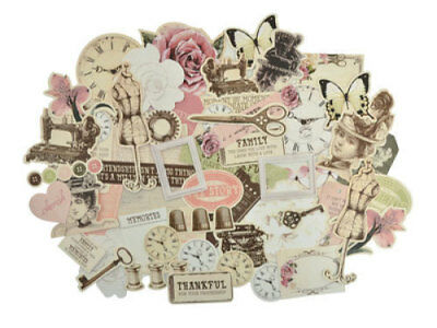 *A&B* KAISERCRAFT Scrapbooking Collectables - Mademoiselle - CT860 LIMITED STOCK