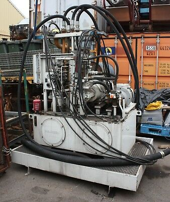 Rexroth Hydraulic Variable Displacement Pump Unit ABHAG-0630S40/A10VSO100