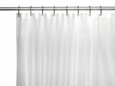 Carnation Home Fashions 10 Gauge Peva 72 By 84 Inch Shower