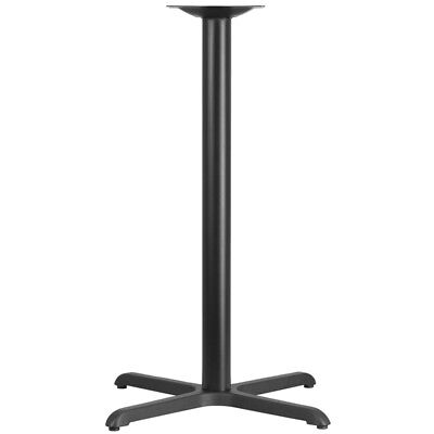 "Flash Furniture 30 by 30"" Restaurant Table X-Base with 3"" Diameter Bar Height"