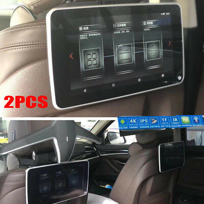 "2 x PCS 10.6"" Headrest Monitors DVD/HDMI LCD Touch HD Pad Video Android Player"
