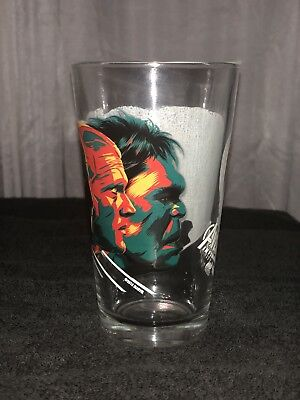 Mondo Alamo Drafthouse Avengers Infinity War Pint Glass 2 Marvel IN HAND!