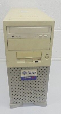 Vintage RARE Sun Ultra 10 Workstation SD 128MB 4GB IDE 250W SYM22801 GWVFRESH ##