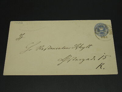 Denmark old stationery cover *14532