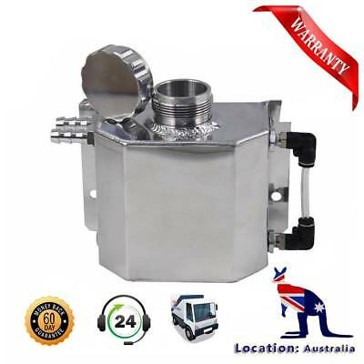 1L Universal Overflow Recovery Water Tank Polished Aluminum