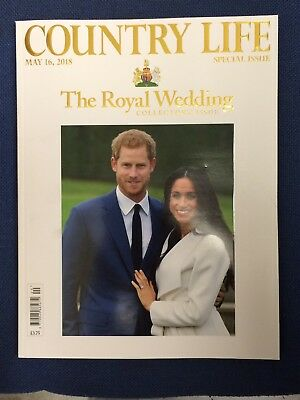 COUNTRY LIFE Magazine MAY 2018 ROYAL WEDDING HARRY COLLECTORS SPECIAL ISSUE NEW