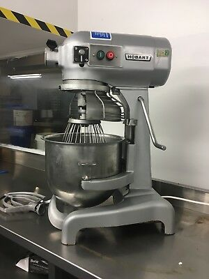 Hobart Mixer A200 20 Qrt,safety Guarded,Full Serviced,immaculate,mint.very Quiet
