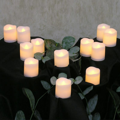 24PC LED Tea Light Tealight Candle Wedding Church Decoration+Battery Operated