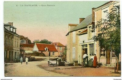 CPA-Carte postale-France - Chapelaude - Route Nationale (CP3273)