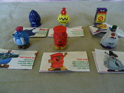 Yowies Series 3 * Set Of 6 Limited Edition Grumkins + Papers, In New Clean Bags