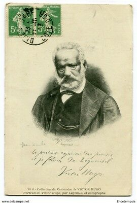 CPA-Carte postale-France - Fantaisie - Portrait de Victor Hugo - 1913 (CP3283)