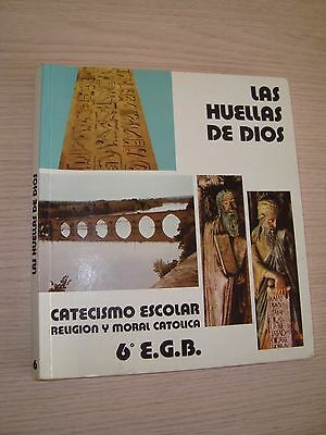 Catechism School 6º Egb The Pawprints Of God Ed. Episcopal Conference 1983