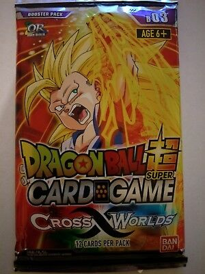Dragon Ball Super Card Game | Cross Worlds Booster Pack (12 Cards per Pack)