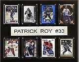 """NHL 12""""x15"""" Patrick Roy Montreal Canadiens 8 Card Plaque"""