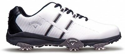 Callaway Chev Mulligan Herrenschuhe, WIDE, white/white/black
