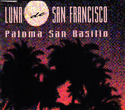 Paloma San Basilio - Luna De San Francisco Cd Single 1 Track Promo 1994