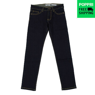 GUESS Jeans 10Y Navy Blue Stretch Light Faded Effect Skinny Fit L33A3100D0S