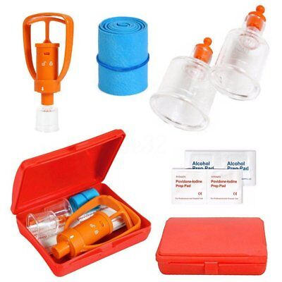 First Aid Kit Suction Vacuum Pump Snake Wasps Bees Bite Venom Extractor Outdoor