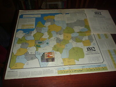 SPI game 1812 Area Version AND Hex Version