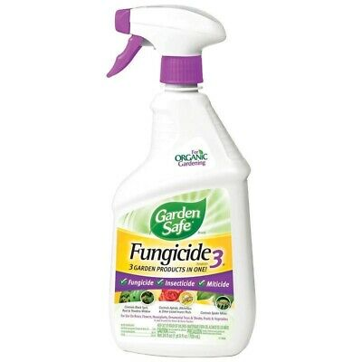 GARDEN SAFE FUNGICIDE 3 Ready To Use Spray,No 10414X, United