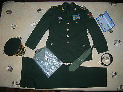 Obsolete 07's China Ministry of National Defense Army 3 Stars General Uniform