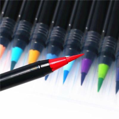 20 Color Artist Oil Pen Water Colour Drawing Calligraphy Pen With Water Brush