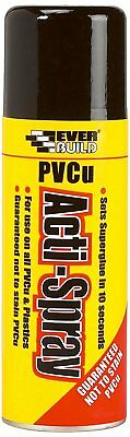 Everbuild PVCu ACTI-SPRAY Adhesives Superglues & Activators - 200ml