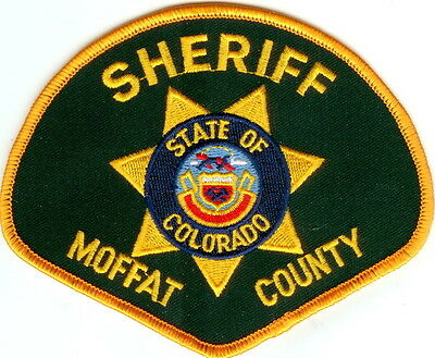 Moffat County Sheriff Police Patch Colorado CO NEW!!