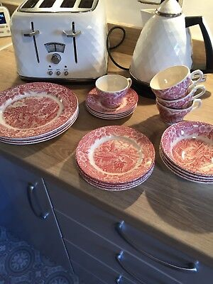 vintage broadhurst the constable series bicentennial set red and white