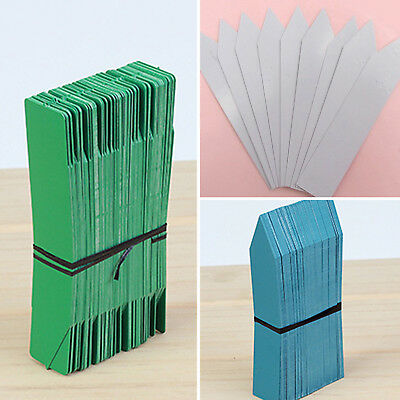 Plant Pot Markers Plastic Stake Tags Home Yard Lawn Nursery Seeds Labels ST