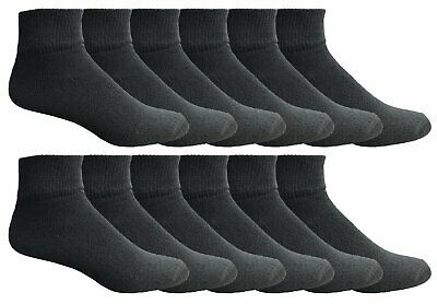excell Bulk Ankle Socks for Men Women Kids, Cotton Basic Sport Sock, Multipack