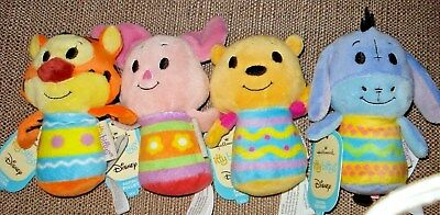 Hallmark 2015 Easter Itty Bittys Winnie the Pooh Tigger Piglet and EEyore