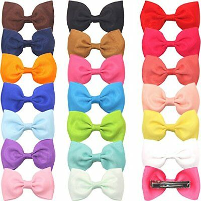 20pcs Baby Girl Hair Accessories Hair Bow Clips Pinwheel hairbows for Toddlers