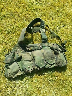 Genuine British army dpm PLCE webbing chest rig airsoft paintball