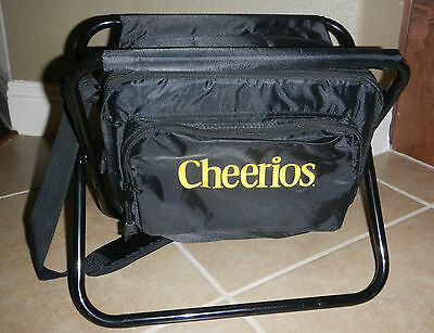 Cheerios Cereal Logo Folding Camp Chair with Cooler