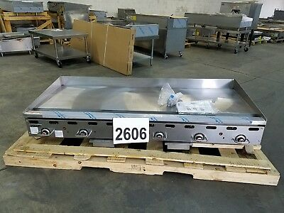 "2606-New S/D - Vulcan 72"" Thermostatic Griddle, E-Ignition, Model: 972RX"