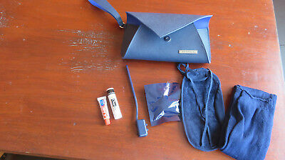 Klm Business Class Amenity Kit Kulturbeutel Jantaminiau Blau