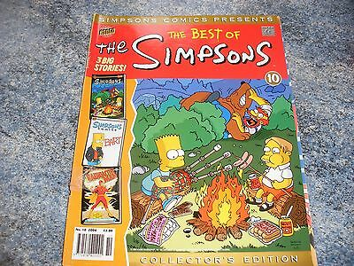 The Best Of Simpsons Collectors Edition Comic 10 2004 Complete With Poster