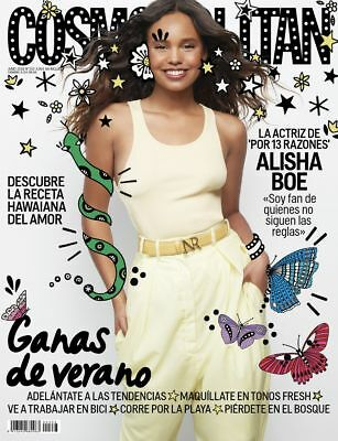 ★ COSMOPOLITAN ESPAÑA Revista Magazine Juny 2018 - Alisha Boe on cover - NEW